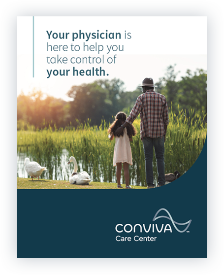 Your physician is here to help you take control of your health - advertisement